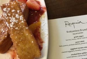 Brioche French Toast at Requin
