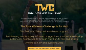 Another Total Wellness Challenge!